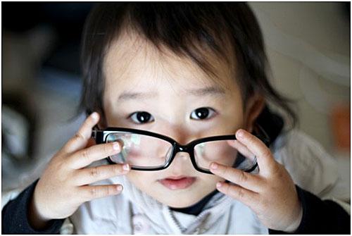 眼鏡 子供