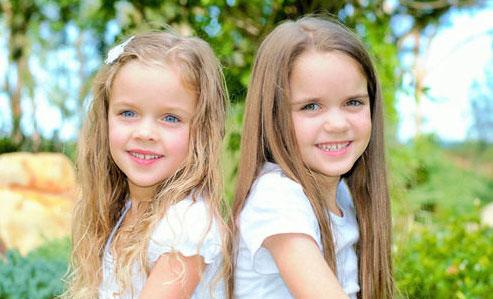 女の子 2人